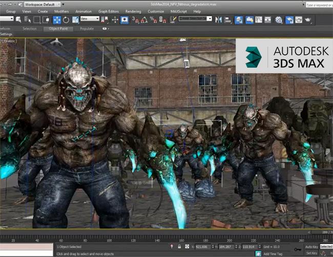 Autodesk 3ds max 2014 Características y Nuevas Funciones