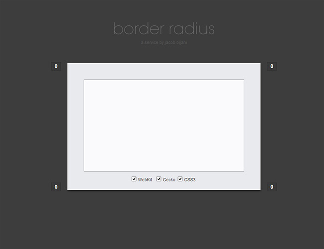 Propiedad border-radius CSS3