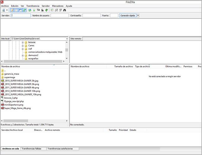 Instalar y configurar Filezilla