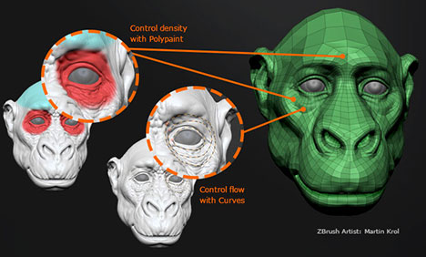 Zbrush4R6 new function