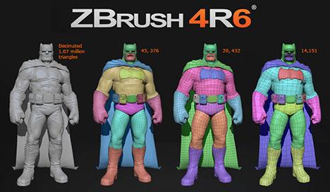Lanzado Zbrush 4r6
