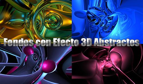 Fondos con Efecto 3D Abstractos