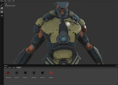 Substance Painter – Nuevo Software para Pintar Directamente Sobre Objetos 3D
