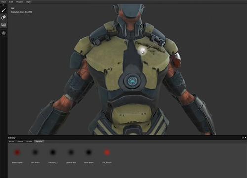 Substance Painter – Nuevo Software para Pintar Directamente Sobre Objetos 3D