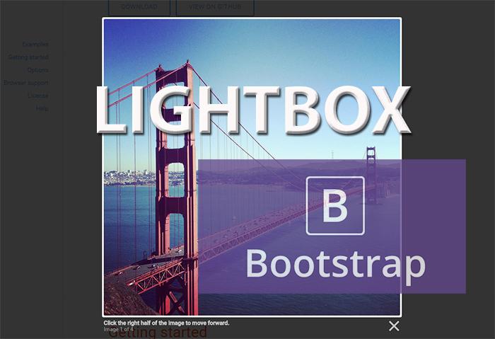 Lightbox Bootstrap