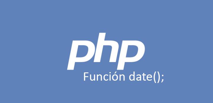 Introducción a la Función Fecha en PHP
