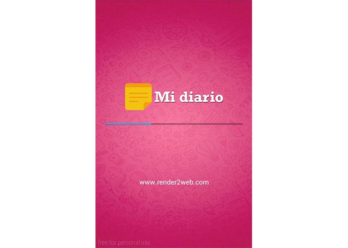 Aplicación Mi Diario para Android