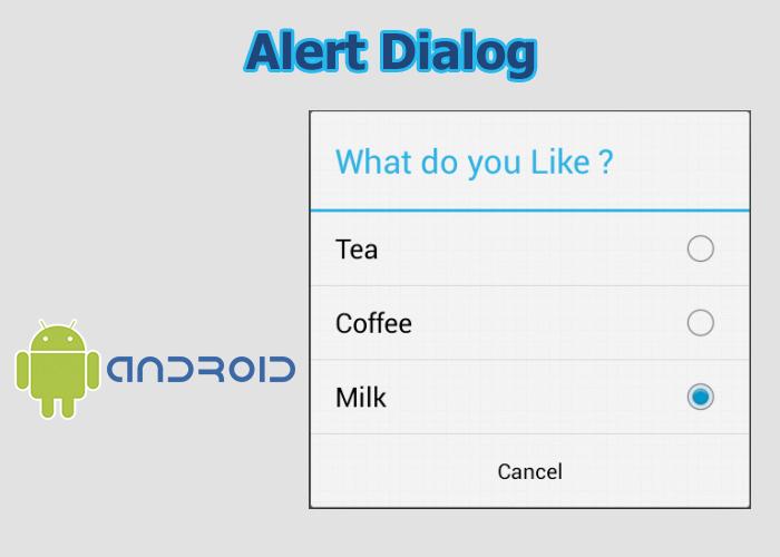 Alert Dialog en Android Studio