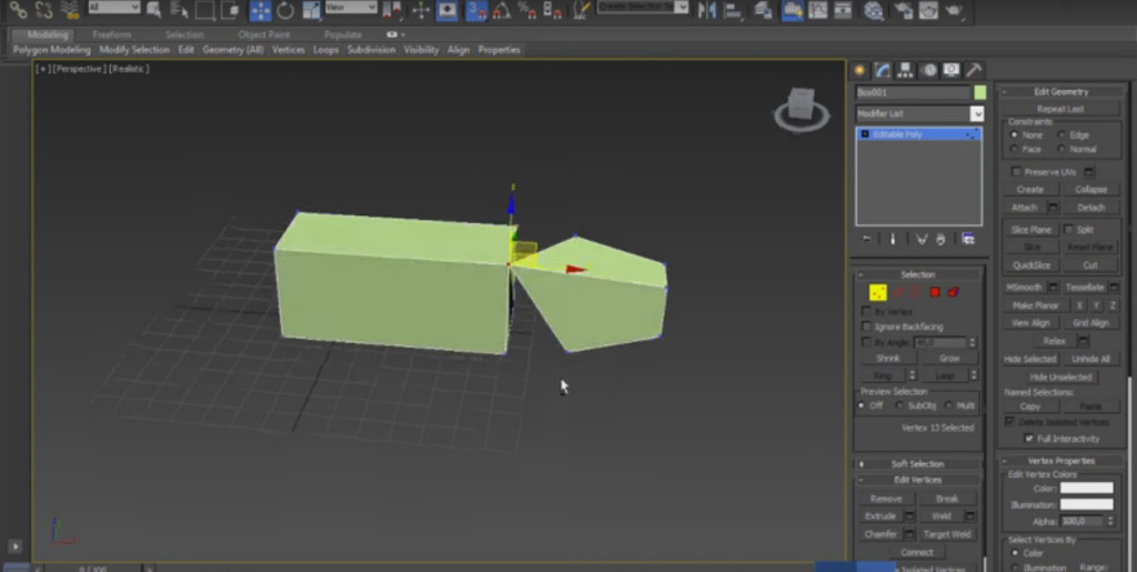 Alinear Vertices en 3ds Max (Vertex Snapping)
