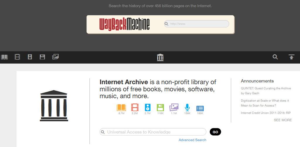 Como saber el historial de un dominio web