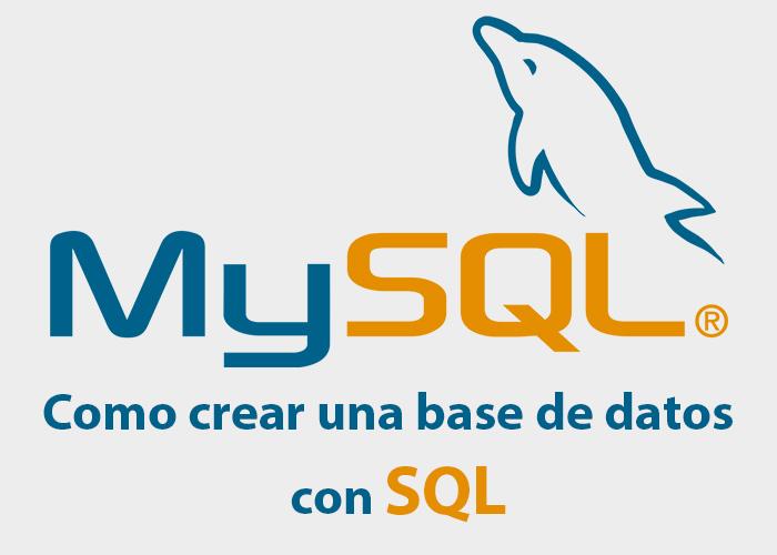 Mysql – Crear Base de Datos, Eliminarla y Mostrar las Bases de Datos del Servidor