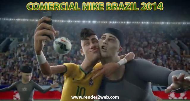Corto Animado de Nike para el Mundial de Fútbol 2014