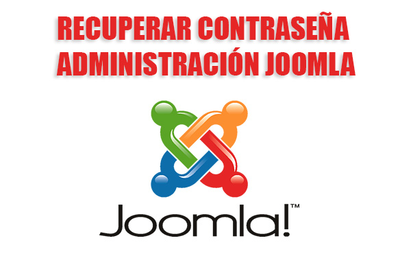 Recuperar Contraseña de la Administración Joomla