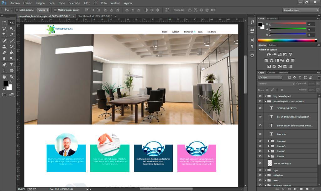 Generar Recursos de Imagen en Photoshop