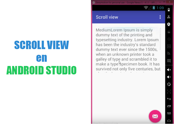 Scroll View en Android Studio