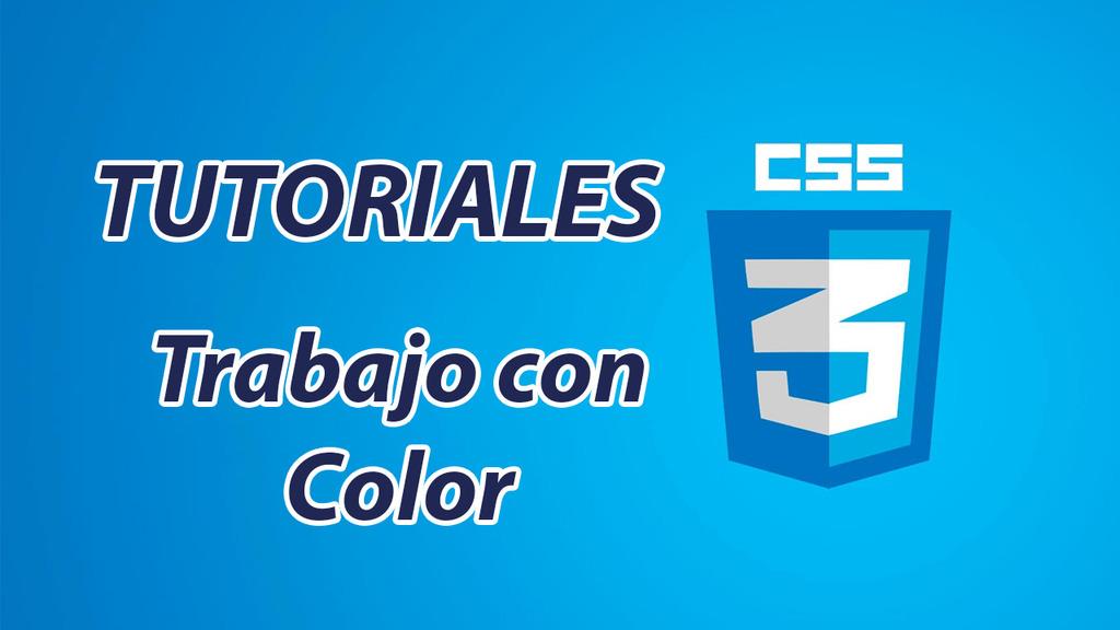 Trabajo con Color en CSS – 3