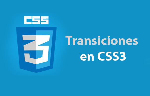 Transiciones con CSS3