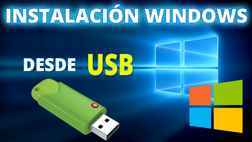 Como Crear una Usb Booteable para Instalar Windows