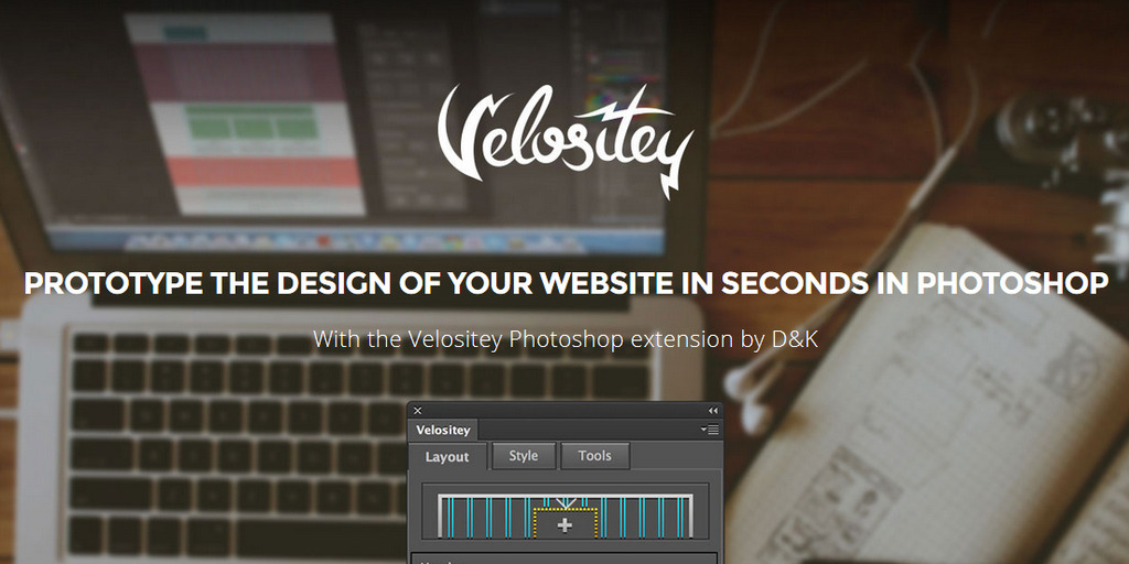Velositey – Plugin Bootstraps para Photoshop