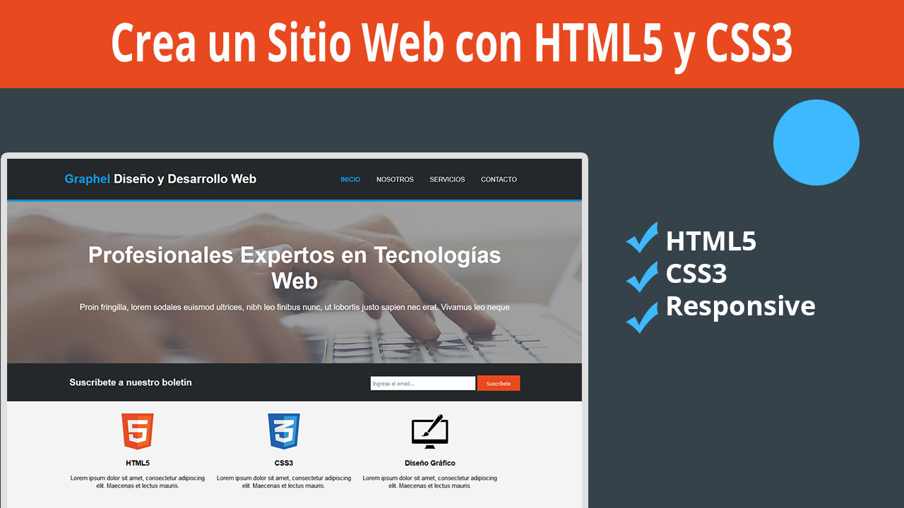 Diseña un Sitio Completo con HTML5 y CSS3 Parte 2 – Estilos CSS