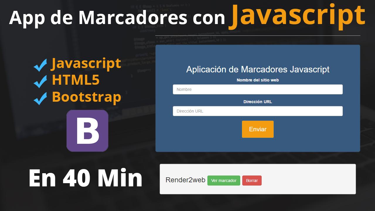 como-hacer-una-aplicacion-marcadores-javascript-bootstrap