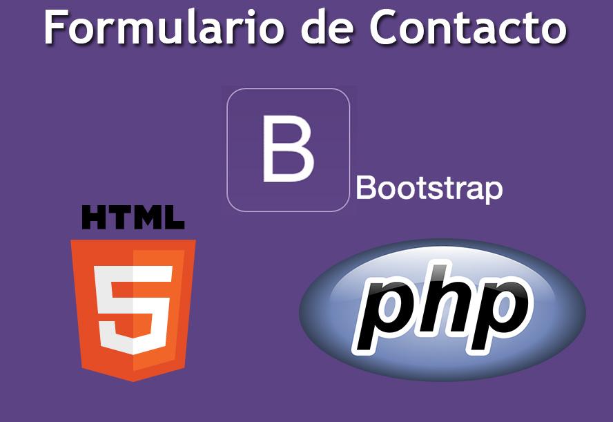Formulario de Contacto HTML 5, PHP y Bootstrap | render2web